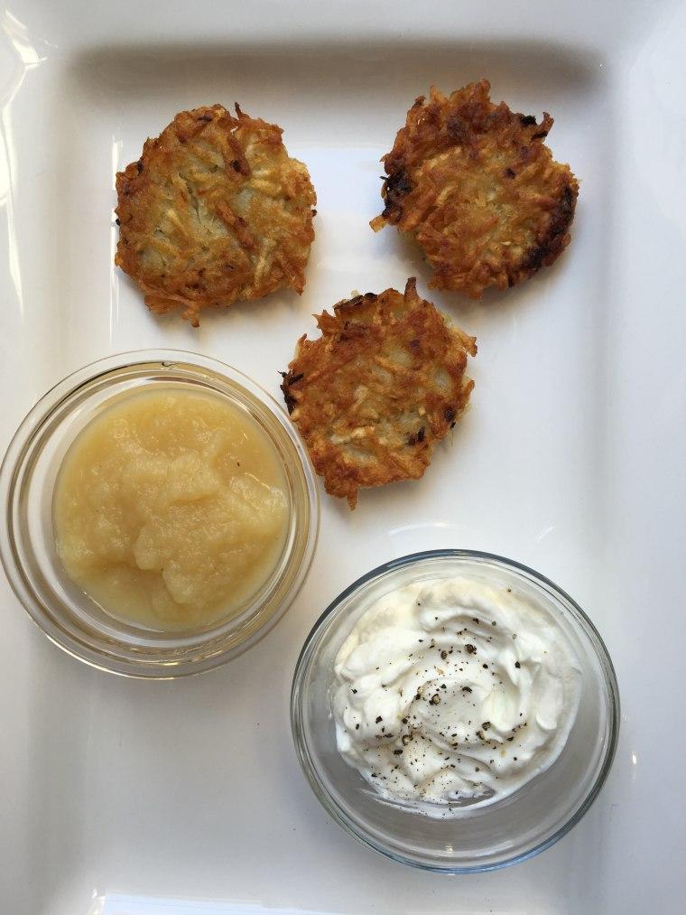 Classic Potato Latkes for Hanukkah