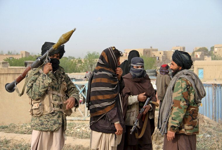 Image: Members of the Taliban