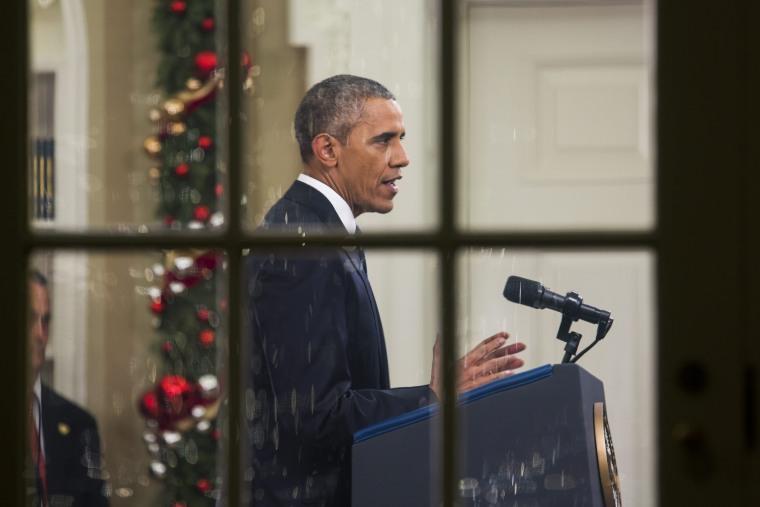 Image: US President Barack Obama's address to the nation in Washington, DC