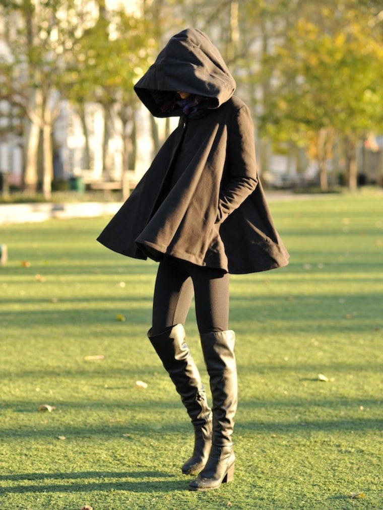 """The """"Angela"""" Swing Coat from Vaute Couture"""