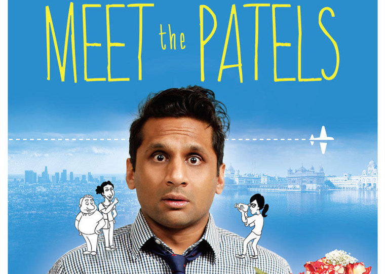 """Meet the Patels"" Documentary Poster"