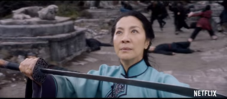 "Michelle Yeoh will reprise her role as Yu Shu Lien in the ""Crouching Tiger, Hidden Dragon"" sequel debuting on Netflix in 2016."