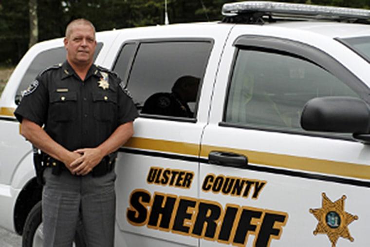 IMAGE: Ulster County, New York, Sheriff Paul J. Van Blarcum