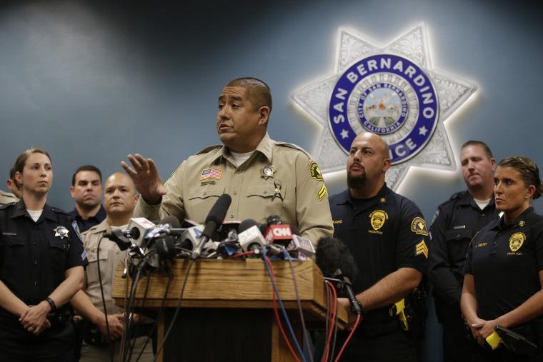 Image: San Bernardino County sheriff's Detective Jorge Lozano