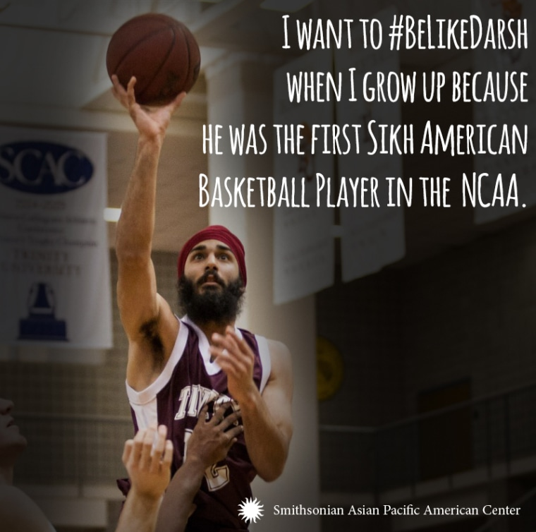 Darsh Preet Singh is the first turbaned Sikh to play basketball in the NCAA.