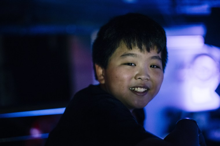 Image: Hudson Yang, who plays Eddie Huang on ABC's new sitcom Fresh Off the Boat, poses for a picture at The Circle Club during the New York premiere party on Feb. 4, 2015.