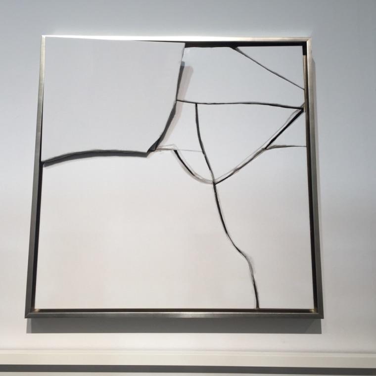 A work by Florencio Gelabert at the PINTA exhibit in Miami during Art Basel Miami Beach 2015.