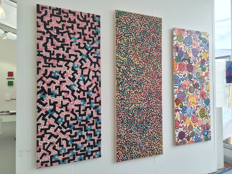 The works of acclaimed artist Marta Minujin.