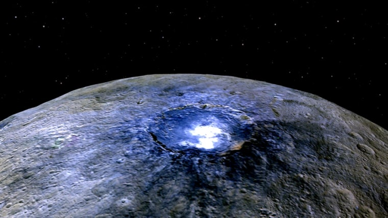 No Alien City Here: Ceres' Bright Spots Likely Made of Salt