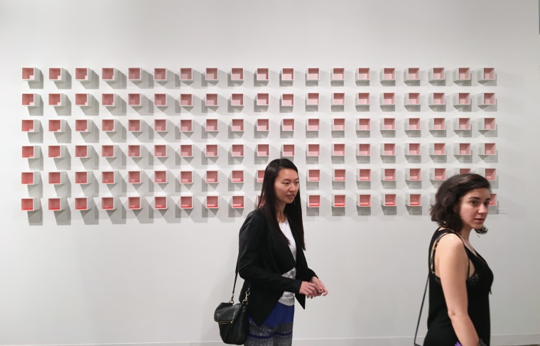 Image: The Sicardi gallery out of Houston displays the work of Argentine artist Luis Tomasello