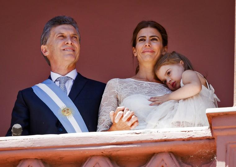 Image: ARGENTINA-MACRI-INAUGURATION