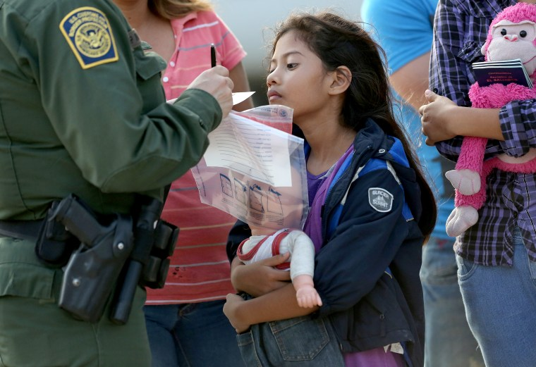 Image: U.S. Agents Take Undocumented Immigrants Into Custody Near Tex-Mex Border