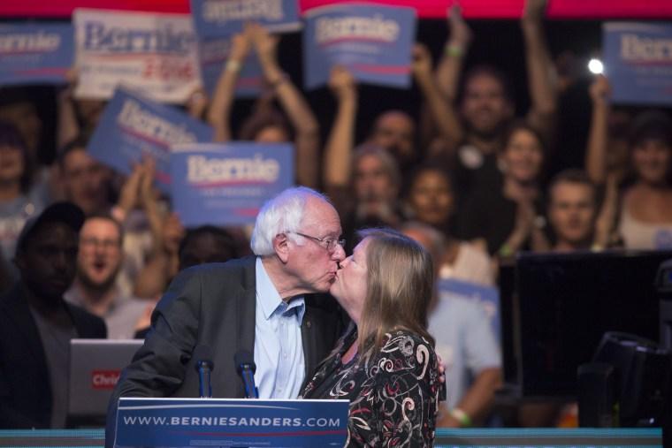 Image: BESTPIX - Bernie Sanders Hosts LA Fundraising Reception
