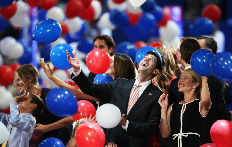 Image: Romney Accepts Party Nomination At The Republican National Convention