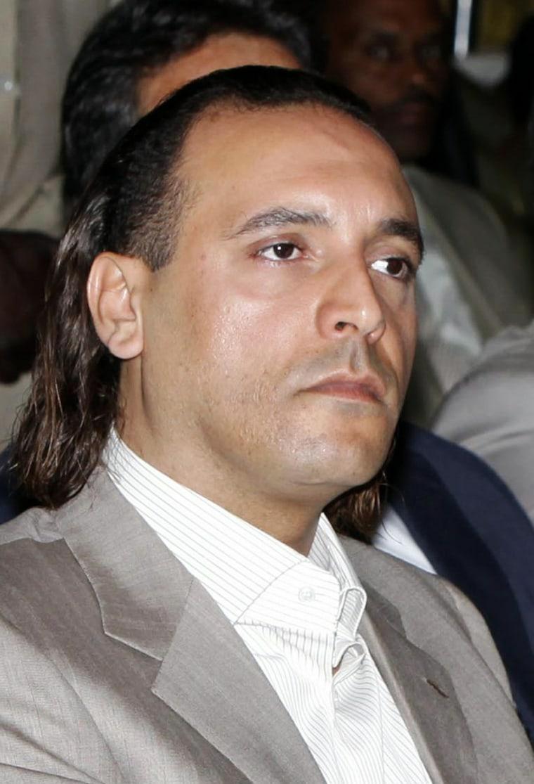 Image: Hannibal Gadhafi