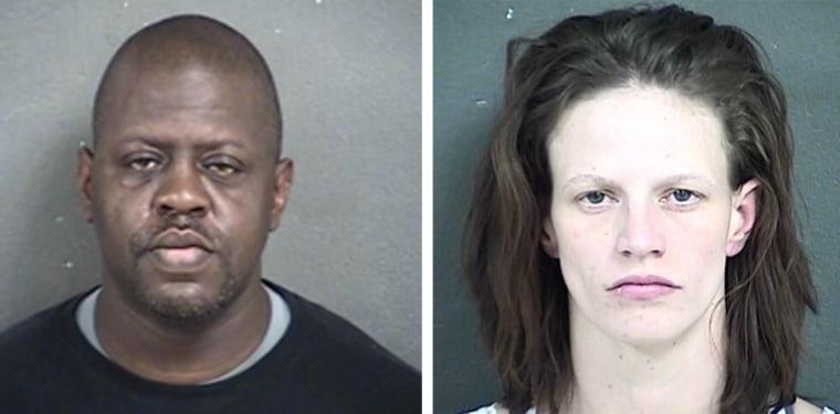 Michael A. Jones, left, and Heather Jones.