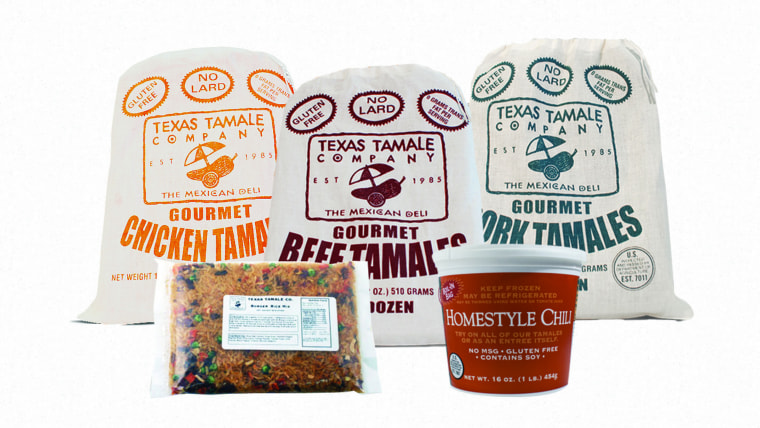 Texas Tamale Company Meal Deal mail-order gift set