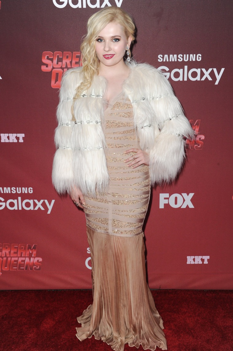 Abigail Breslin, who'll be the new Baby in the adaptation.