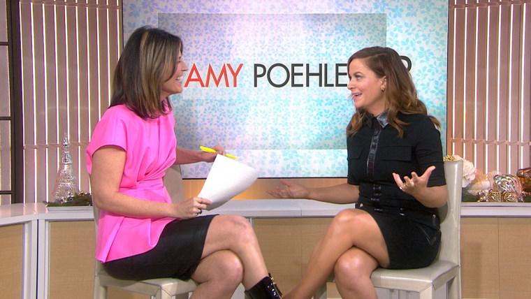 Savannah Guthrie and Amy Poehler.