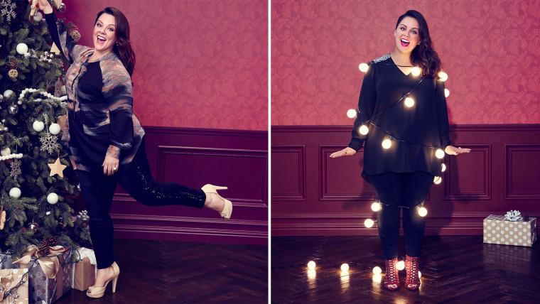 Melissa-McCarthy-fashion-line-today-151210-split 2