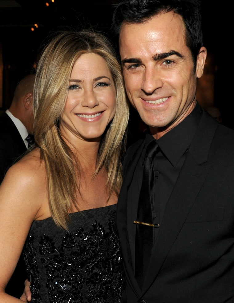 Image: FILE: Jennifer Aniston And Justin Theroux Are Married