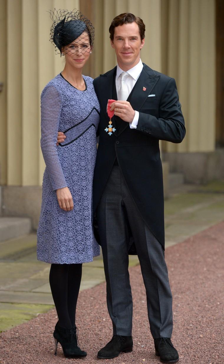 Image: BESTPIX: Investitures at Buckingham Palace