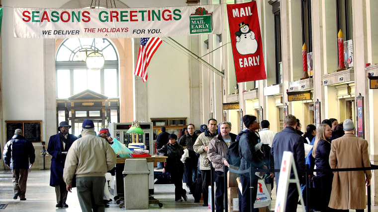 Post Office expects Busiest Day Of Year