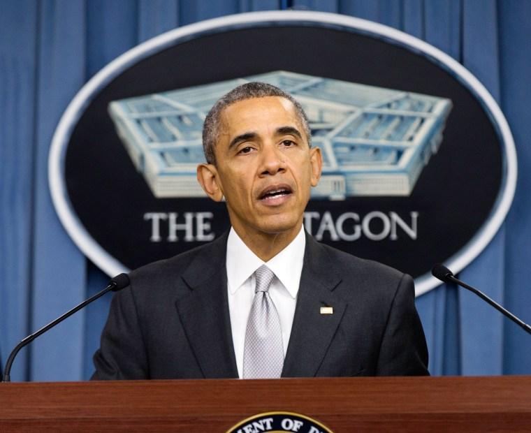 Image: Barack Obama, Ash Carter, Lloyd Austin
