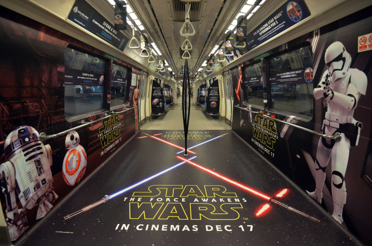Image: SINGAPORE-ENTERTAINMENT-FILM-STAR WARS