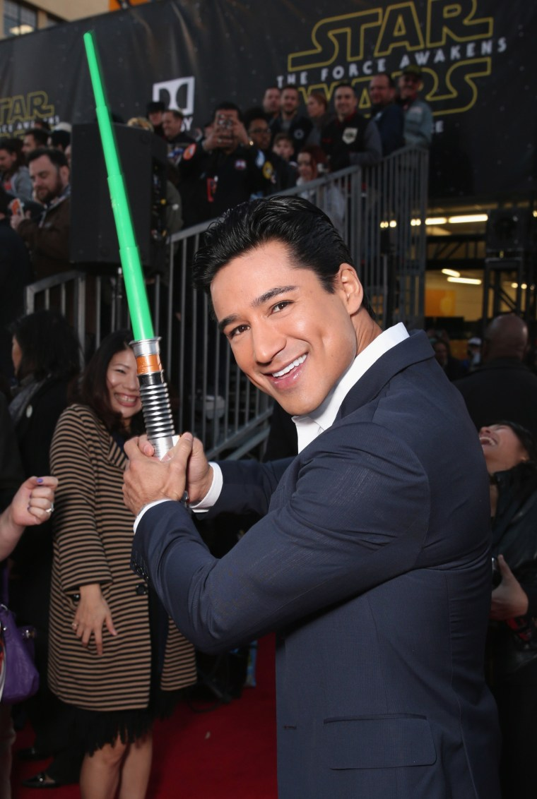 "Image: Premiere Of Walt Disney Pictures And Lucasfilm's ""Star Wars: The Force Awakens"" - Red Carpet"