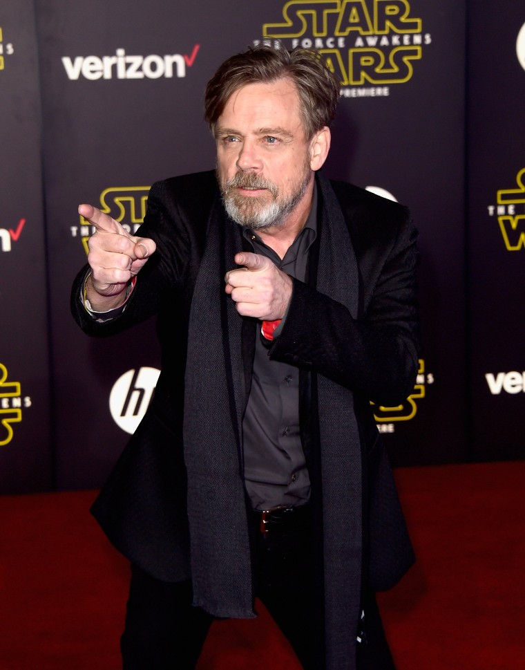 """Image: Premiere Of Walt Disney Pictures And Lucasfilm's """"Star Wars: The Force Awakens"""" - Arrivals"""