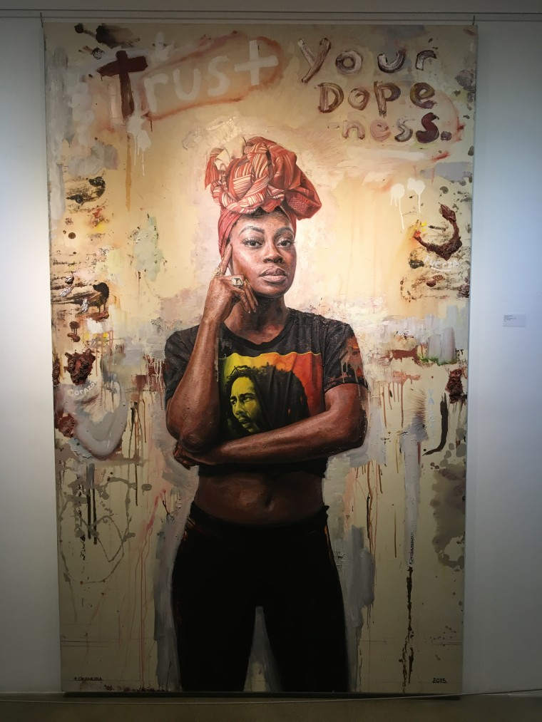 """Trust Your Dopeness"" by Tim Okamura"