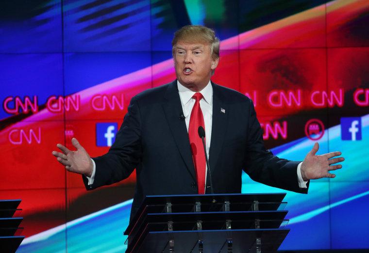 Image: GOP Presidential Candidates Debate In Las Vegas