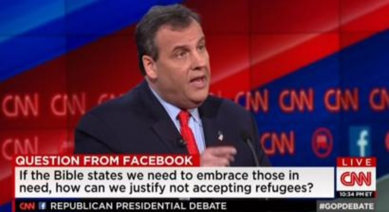 Chris Christie Republican Debate 12-15-15