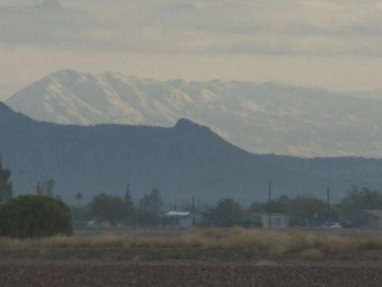 Image: Arizona's Superstition Mountains