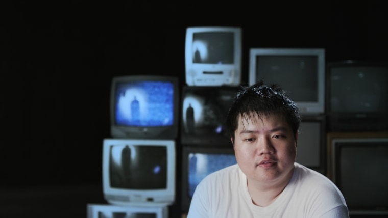 "A still of Arthur Chu speaking during an interview from ""Who Is Arthur Chu?"""