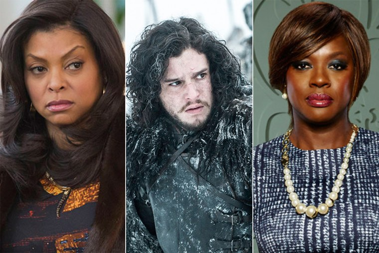 Taraji P. Henson of 'Empire,' Kit Harington of 'Game of Thrones,' and Viola Davis of 'How to Get Away With Murder.'