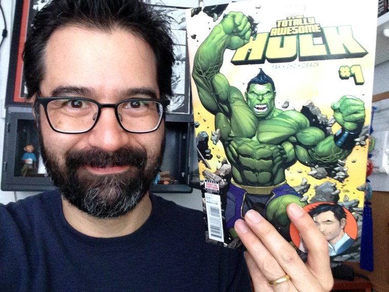 """Greg Pak and """"The Totally Awesome Hulk #1"""""""