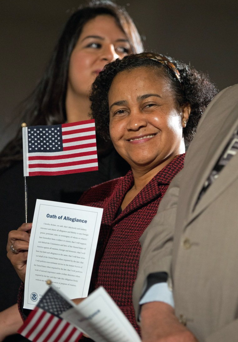 Image: Naturalization ceremony