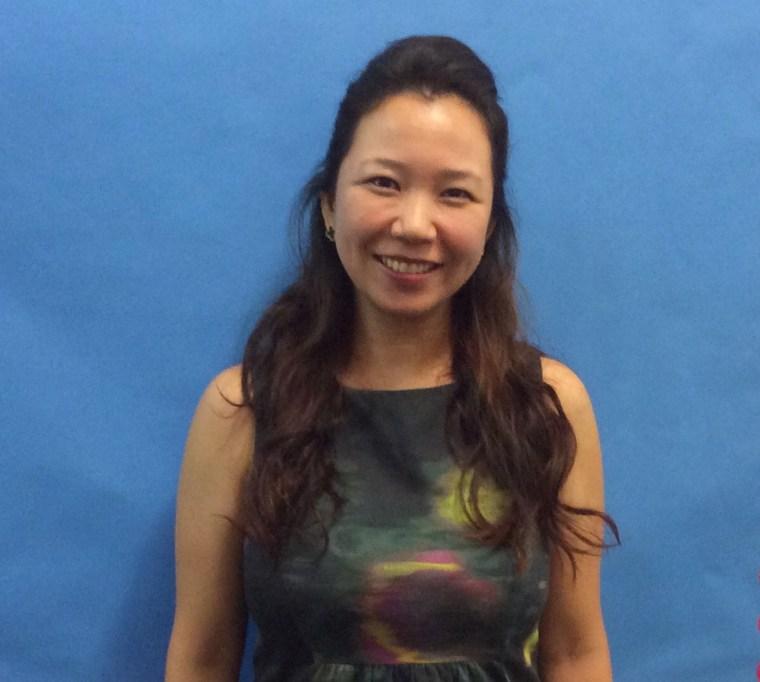 Jaela Kim, principal of P.S. 169 in Brooklyn.