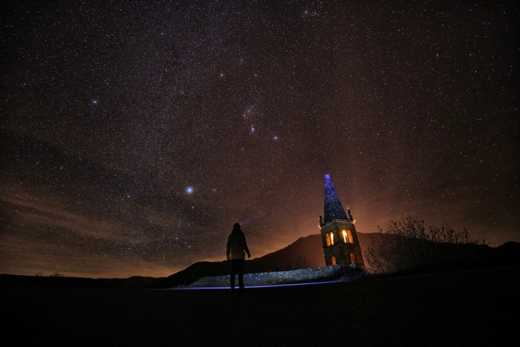 Image: TOPSHOT-ITALY-ASTRONOMY-GEMINID-FEATURE