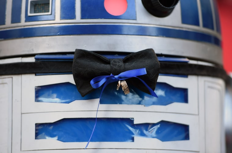 Image: US-ENTERTAINMENT-STAR WARS-FAN WEDDING