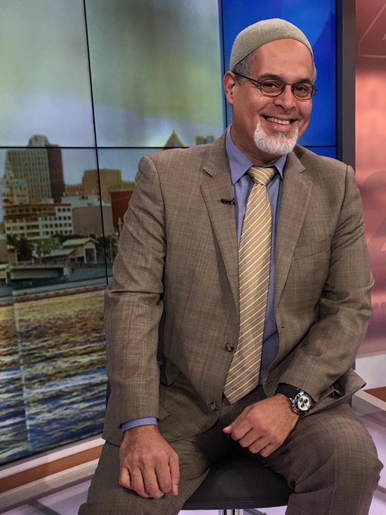 Wilfredo Amr Ruiz at Univision Studios in Doral, Florida, December 2015.