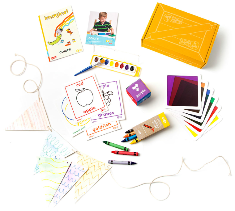 Give kids the give of creativity. Koala Crate subscription boxes deliver kids' hands-on activities to your door each month.