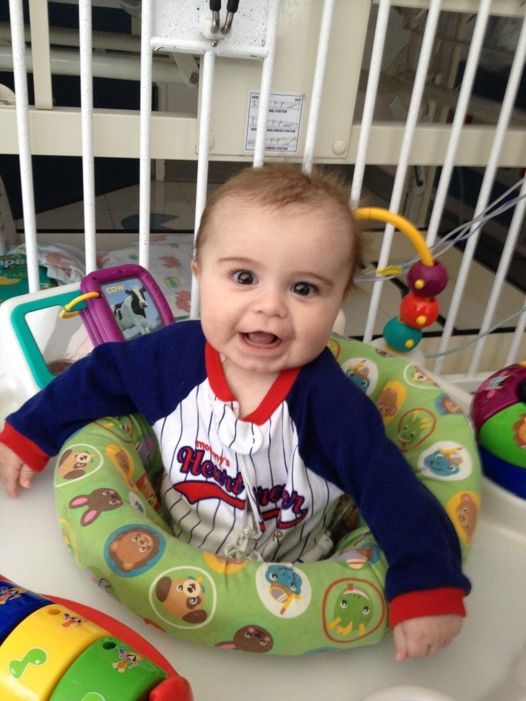 Just four months after he was born, Ryland Joseph was diagnosed with Wiskott-Aldrich Syndrome, a rare genetic disorder.