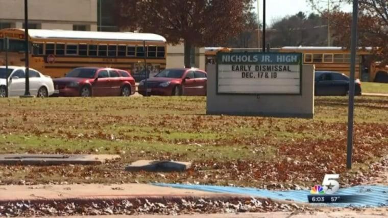 Nichols Junior High School in Arlington, Texas
