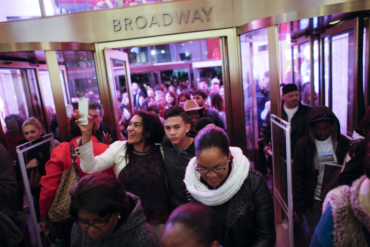 Image: Retailers Open On Thanksgiving Evening, Starting Black Friday Sales Early