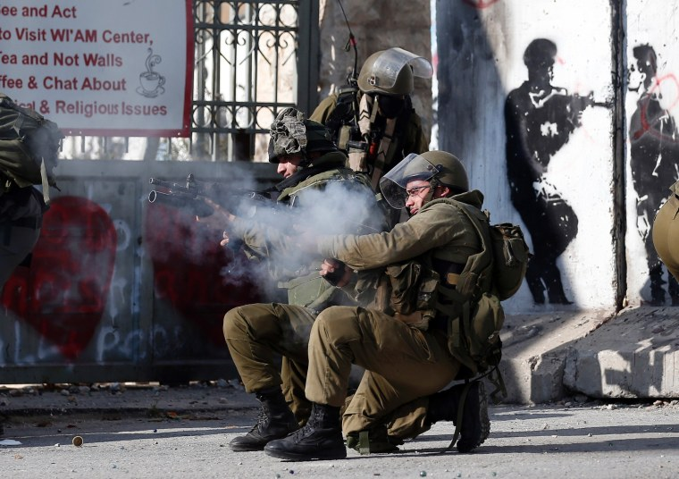 Image: TOPSHOT-PALESTINIAN-ISRAEL-CONFLICT-CHRISTMAS