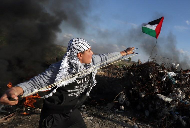 Image: TOPSHOT-PALESTINIAN-GAZA-ISRAEL-UNREST-CONFLICT