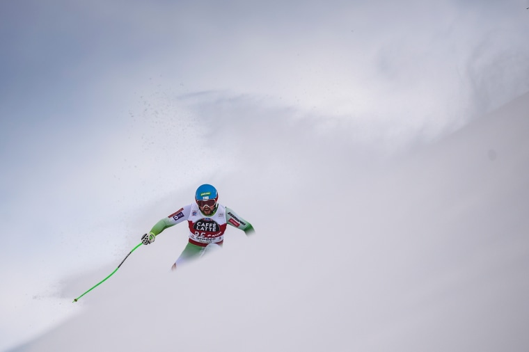 Image: TOPSHOT-SKI-ALPINE-WORLD-MEN-SUPERG